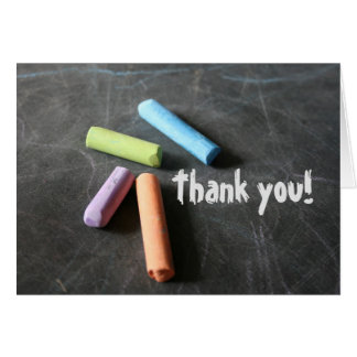 An Educator's Thank-You Note Card