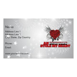 An Egyptian Stole my Heart Business Card Template