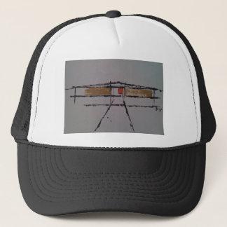 An Eichler home on a T-shirt #2 Trucker Hat
