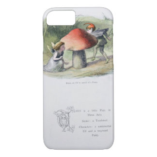 An Elf in Search of a Fairy, illustration from 'In iPhone 7 Case