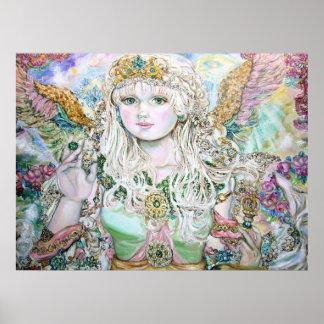 An emerald angel. poster