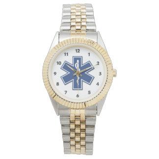 An EMS Star of Life Watch