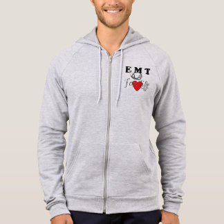 An EMT For Life Hoodie