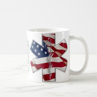 An EMT Prayer  Star of Life Mug