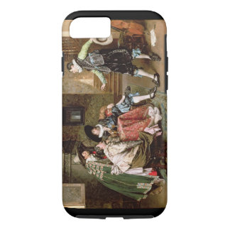 An Engaging Tale, 1894 (oil on panel) iPhone 7 Case