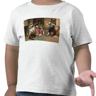 An Engaging Tale, 1894 (oil on panel) Shirt