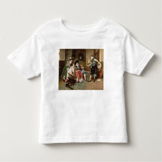 An Engaging Tale, 1894 (oil on panel) Shirts