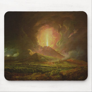 An Eruption of Vesuvius, seen from Portici Mouse Pad