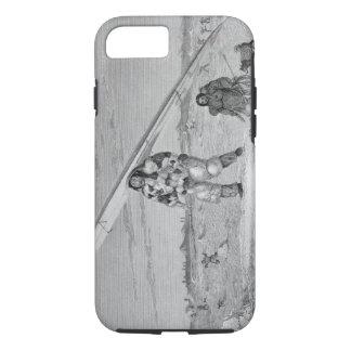 An Eskimaux of Igloolik, wearing a bird-skin jacke iPhone 7 Case