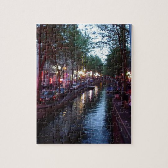 An evening in Amsterdam Jigsaw Puzzle