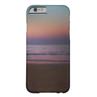 An evening on a beach barely there iPhone 6 case