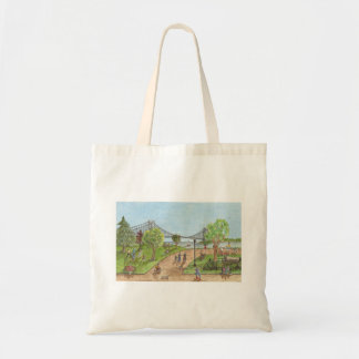 An evening stroll above the Verrazano Bridge Tote Bag