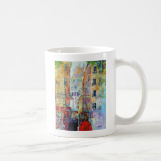 An Evening Walk to Sacre Coeur Coffee Mug