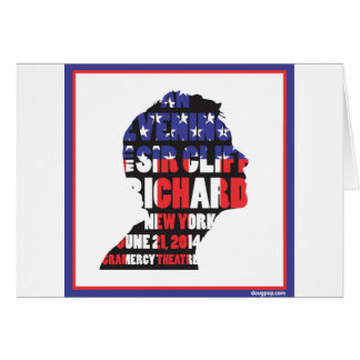 An Evening with Sir Cliff Richard Card