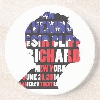 An Evening with Sir Cliff Richard Coaster