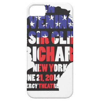 An Evening with Sir Cliff Richard iPhone 5 Cases