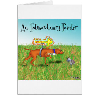 An Extraordinary Pointer Card