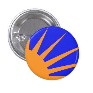 An Gal Gréine 1 Inch Round Button