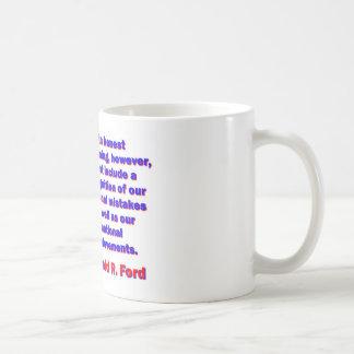 An Honest Reckoning - Gerald Ford Coffee Mug