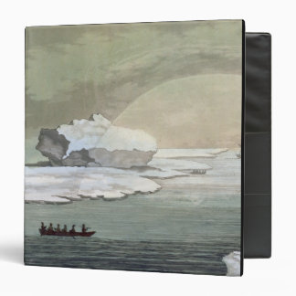 An iced-in British whaleboat is liberated by the s Binders