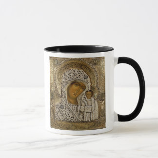 An icon showing the Virgin of Kazan Mug