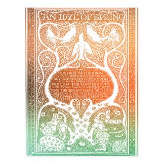 An Idyl of Spring Postcard