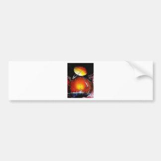 An IMAGINARY PLANET 1.JPG Bumper Sticker