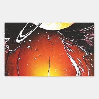 An IMAGINARY PLANET 1.JPG Sticker