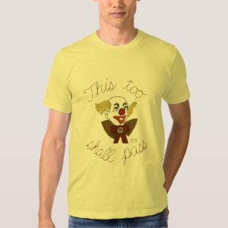 An Important Message From a Serious Clown Tee Shirt