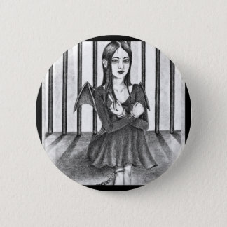 An imprisoned angel 2 inch round button