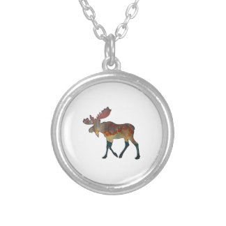 An Incredible Journey Silver Plated Necklace