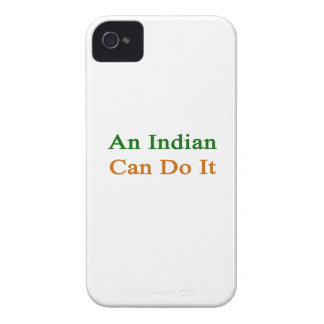 An Indian Can Do It Case-Mate iPhone 4 Case