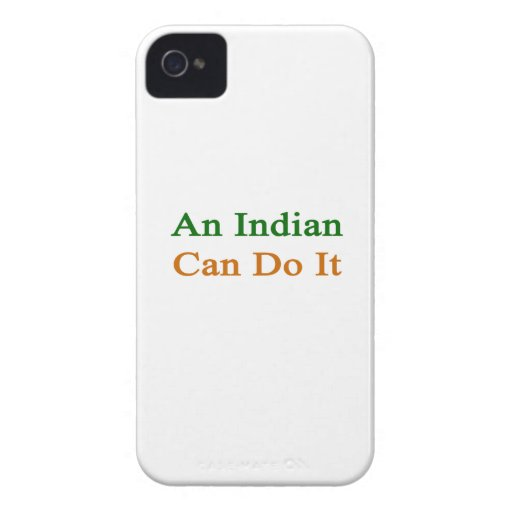 An Indian Can Do It Blackberry Bold Case