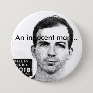 An Innocent Man 3 Inch Round Button