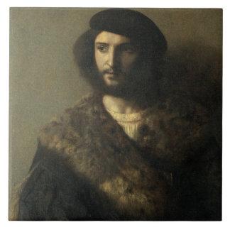 An Invalid, c.1514 (oil on canvas) Tile