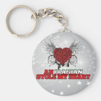 An Iranian Stole my Heart Keychain