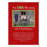 An Irish Blessing at Christmas Greeting Card