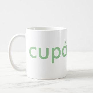 An Irish Cupán Tae Coffee Mug