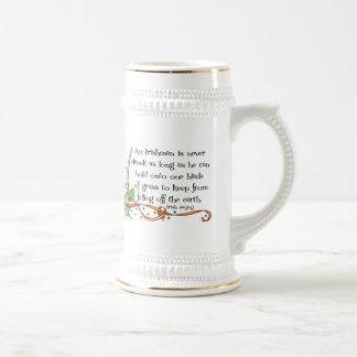 An Irishman Is Never Drunk... Mug