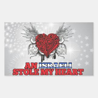 An Israeli Stole my Heart Sticker