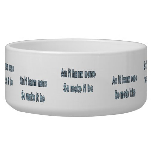 an it harm none blue texture outline pagan.png pet water bowls