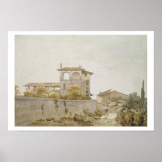 An Italian Villa Poster
