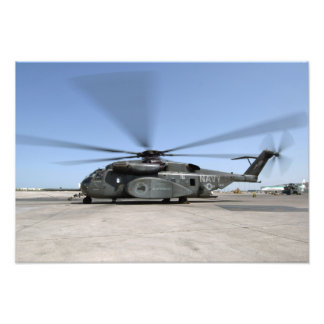 An MH-53E Sea Dragon helicopter Photo Print