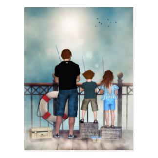 An Ocean of Tenderness Postcard (text)