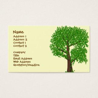 An Odd Tree Business Card