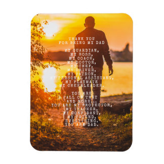 An Ode to Dad | Personalize this Poem Magnet