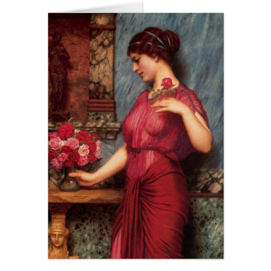 An Offering to Venus Oil Painting Card