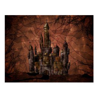 An Old Castle Postcard