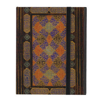 An Old Decorative Book Cover iPad Cases