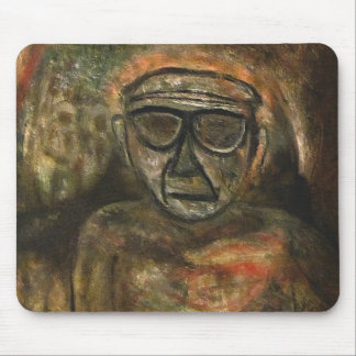 An old man during WW2 by rafi talby Mouse Pad